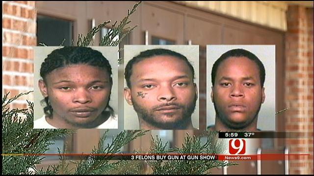 Three Men Arrested After Buying Gun At Gun Show In OKC