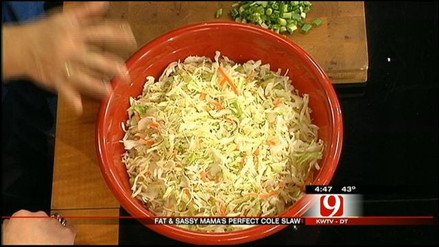 Keeping Cole Slaw Crisp And Low In Calories