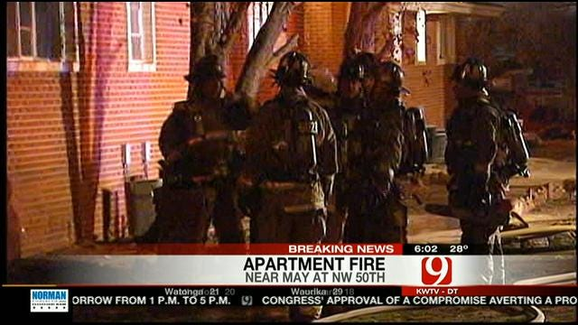 Women Help Rescue Residents From NW OKC Fire