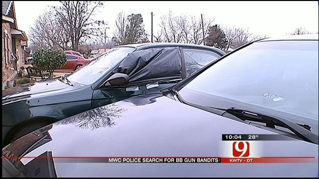 MWC Police: BB Gun Bandits Shot Out Dozens Of Car Windows