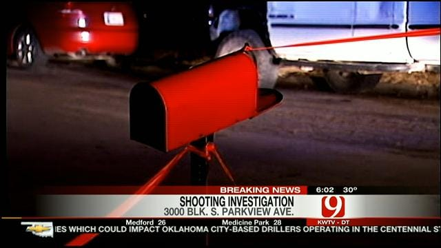 Man Injured In Drive-By Shooting In SW OKC