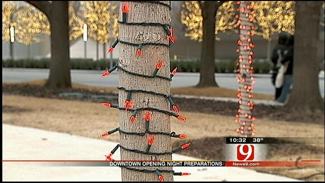 Inclement Weather Doesn't Deter OKC 'Opening Night' Preps