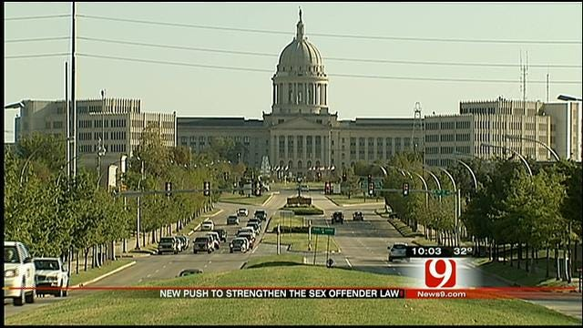 New Push For Tougher Oklahoma Sex Offender Laws