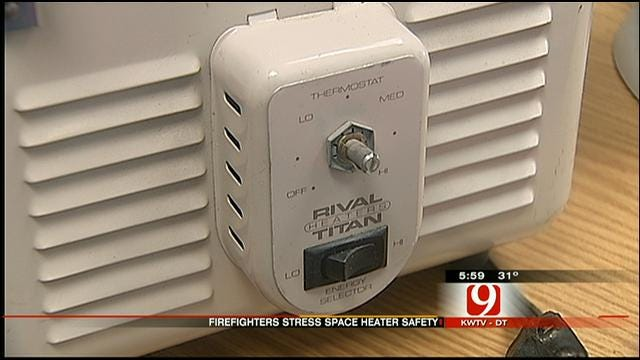 Fire Officials Urge Space Heater Safety After Deadly House Fire