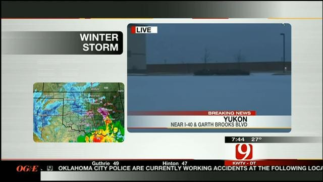 OHP Update On Roads Across Oklahoma