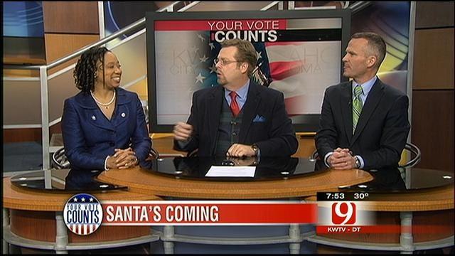 Your Vote Counts: House Divided, Debate Begins, OK School Safety, Santa