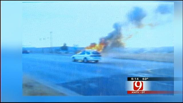 OKC Fire Dept. Honors Citizens For Saving Family From Car Fire