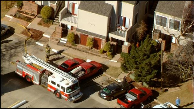 Bob Mills Sky News 9 HD: Fire At Northwest OKC Condos