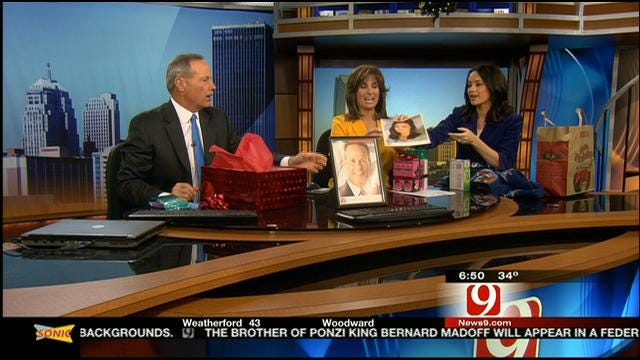 News 9 This Morning Team Exchanges Gifts