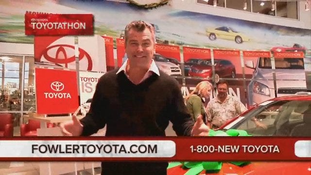 Fowler Toyota: Happy Holidays