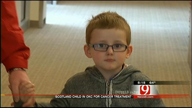 3-year-old Boy From Scotland Undergoing Special Cancer Treatment In OKC