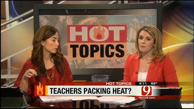 Hot Topics: Teachers Packing Heat?
