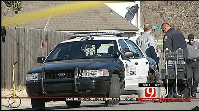 OKC Police Officer Shoots, Kills Suspect Who Had Stolen Gun