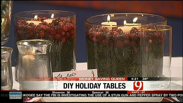 Money Saving Queen: Holiday Touches For Your Table
