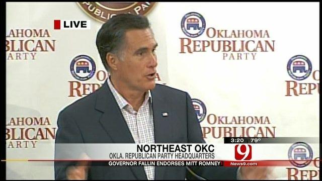 Mitt Romney Campaigns In Oklahoma City, Part II