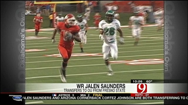 Jalen Saunders Commits To OU