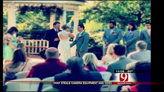 Burglar Steals Treasured Wedding Footage From OKC Videographer's Home