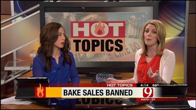 Hot Topics: Banning School Bake Sales