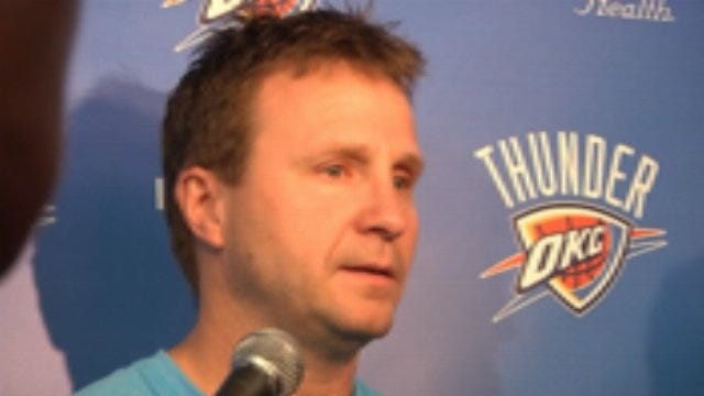 OKC's Scott Brooks Previews Second Round Of Playoffs