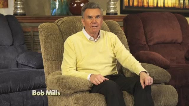 Bob Mills: BOGO Recliners