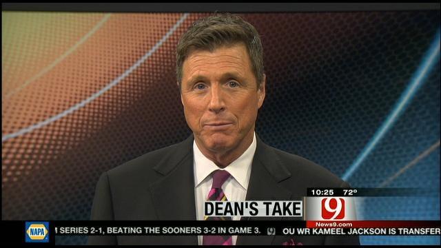 Dean's Take: Chuck Needs To Keep Politics To Himself