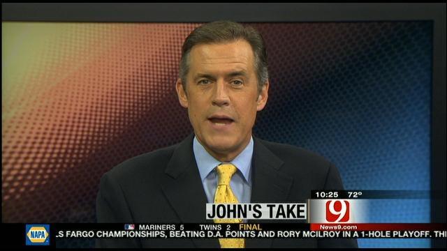 John's Take: Switzer Leads Special Olympians