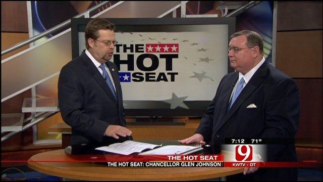 Hot Seat: Higher Education Chancellor Glen Johnson