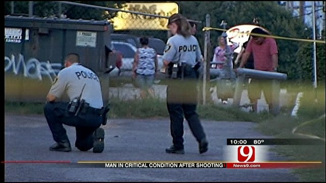 Gunman On The Loose After Shooting In NW OKC