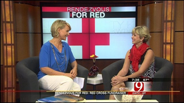 'Rendezvous for Red' Red Cross Fundraiser