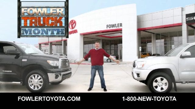 Fowler Toyota: Truck Month
