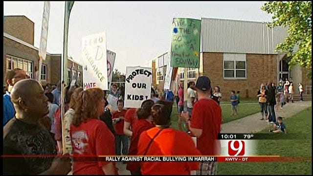 Anti-Bullying Rally Held In Harrah