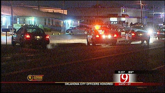 OKC Police Officers Honored For Heroism
