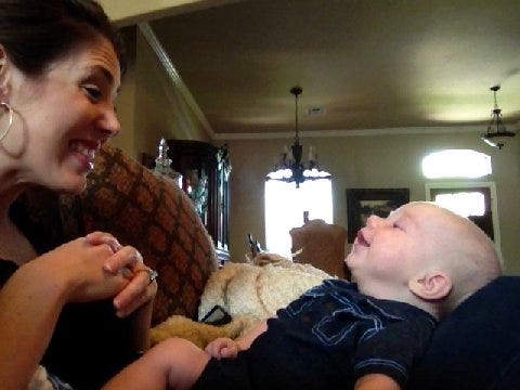 Amanda's Laughing Little Boy