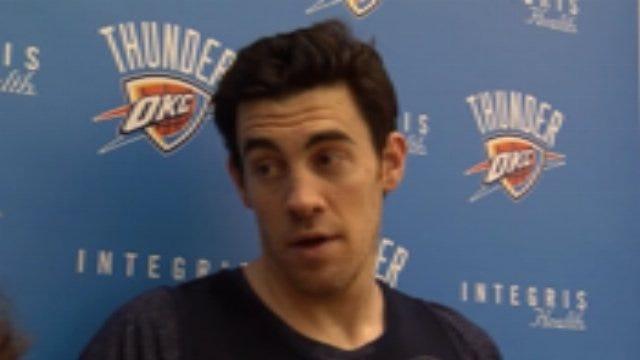 Thunder Practice: Nick Collison Interview