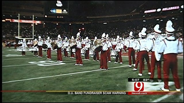 OU Marching Band Director Warns Of Fundraising Scam