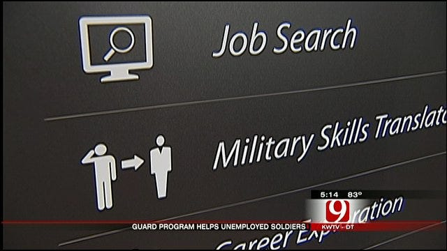 Oklahoma National Guard Helps Returning Soldiers Find Jobs