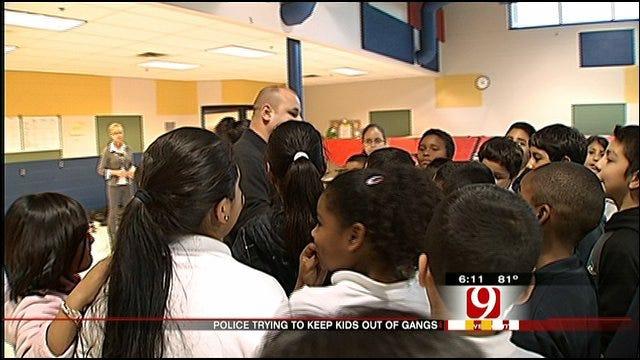 OKC Police's Mentoring Program Helps Keep School Children Away From Gangs