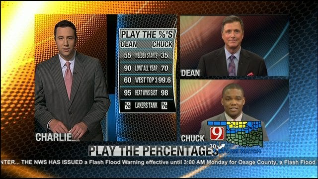 Play The Percentages: April 29, 2012
