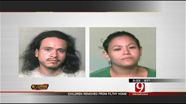 OKC Parents Arrested After Children Found Living In Filth