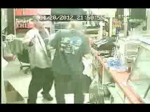 Robbery Suspect Forces His Way Out Of Convenience Store