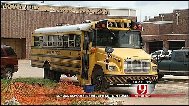 Tornado Prompts Norman Schools To Install GPS Radios