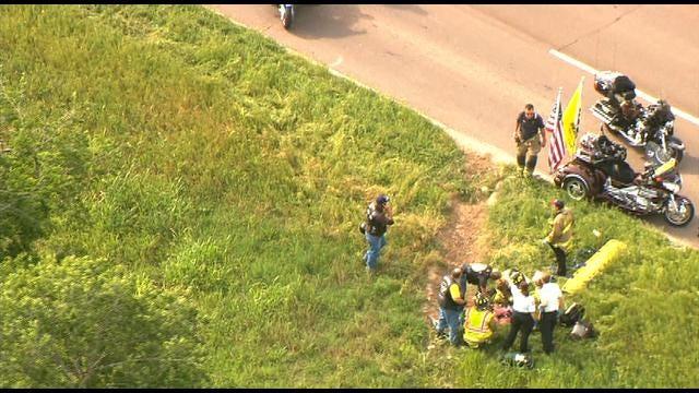 WEB EXTRA: Motorcycle Accident In NE OKC
