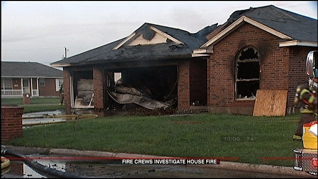 Moore Homeowner Arrested After House Fire