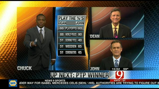 Play the Percentages: April 22, 2012