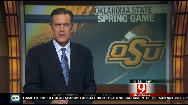 John Holcomb Breaks Down OSU's QB Battle