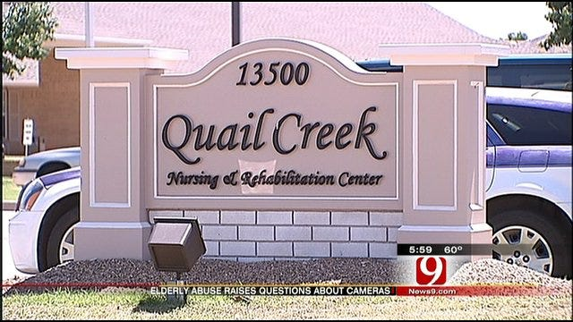 Experts Debate Use Of Cameras After Abuse Captured At OKC Nursing Home
