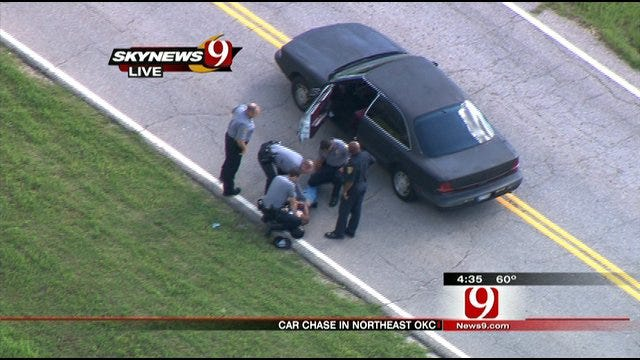 High-Speed Pursuit In NE OKC