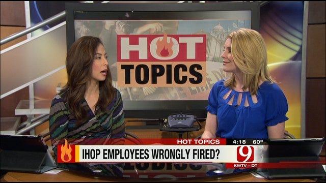 Hot Topics: IHOP Fires Muslim Employees