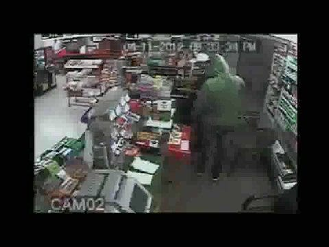 Surveillance Video Of Northwest OKC Armed Robbery
