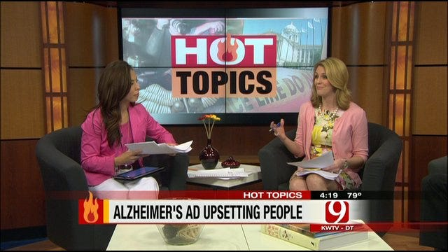 Hot Topics: Controversial Alzheimer's Ad